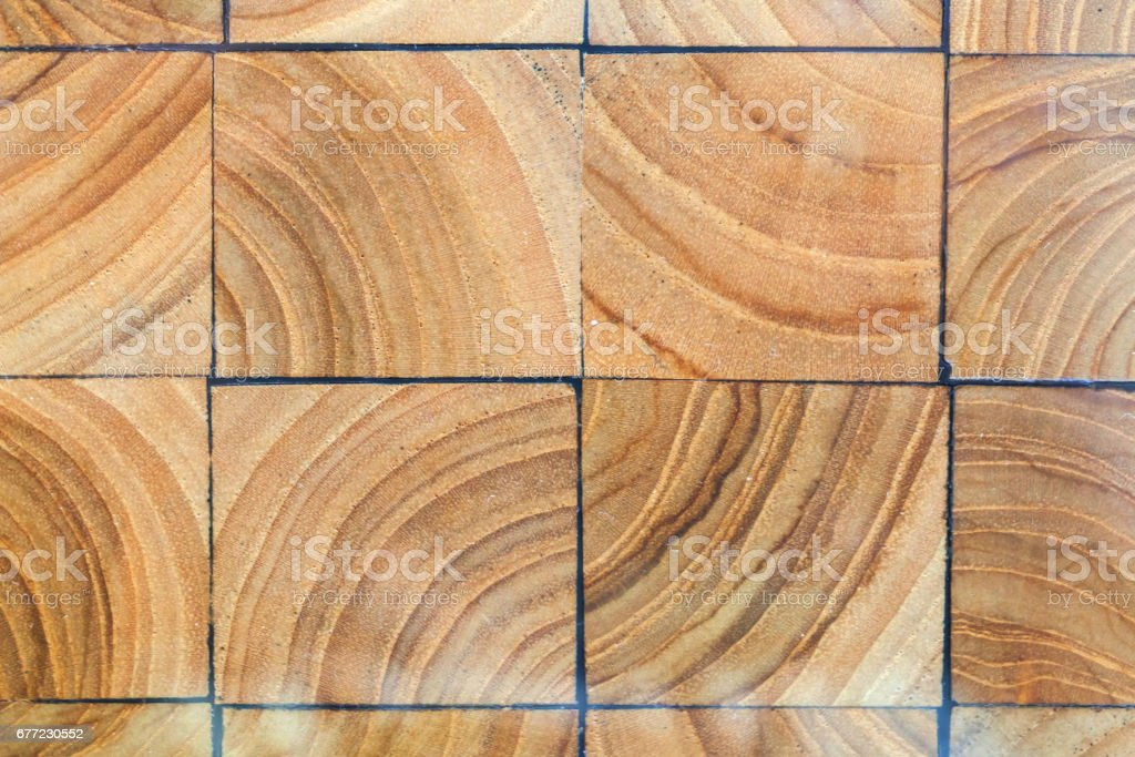 wood blocks pavement texture abstract natural wooden background royalty free stock photo