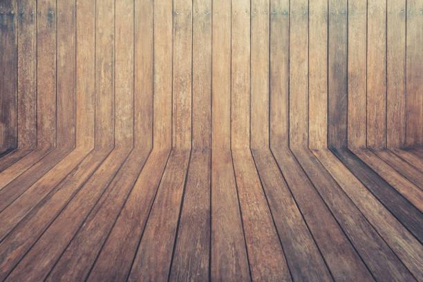 Holzbretterhintergrund, Holzwand-Jahrgang – Foto