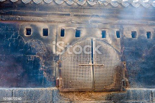 Wood burning stove of Tai Shan or Tai Mountain, UNESCO World Heritage Site, Taian, Shandong Province in China, Asia,Nikon D3x