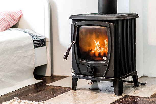 Wood burning stove – Foto