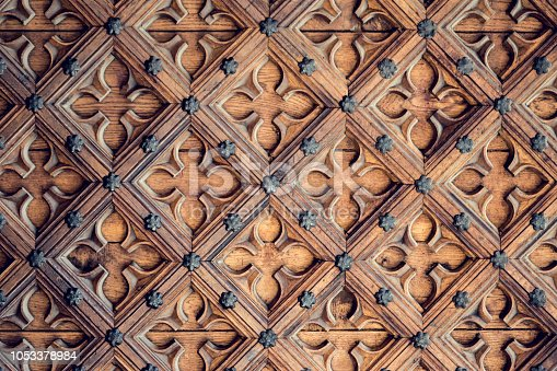 wood carving textured