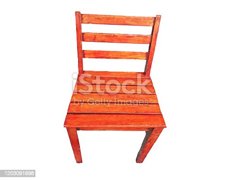 istock wood chair isolated on white background 1203091698