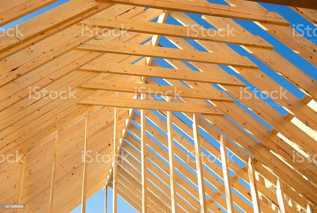 Wood Construction Background royalty-free stock photo