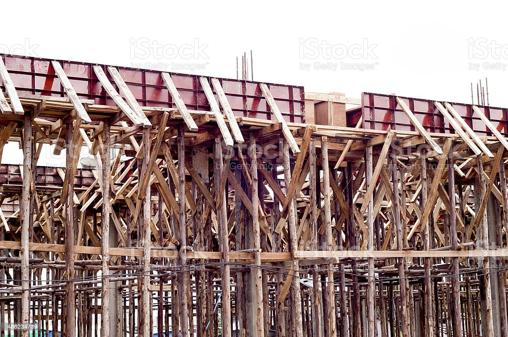 Wood construction royalty-free stock photo
