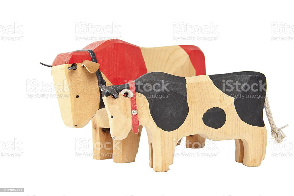 wood Kuh Spielzeug – Foto