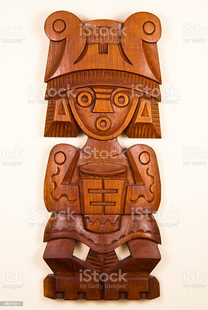 wood crafts royalty-free stock photo