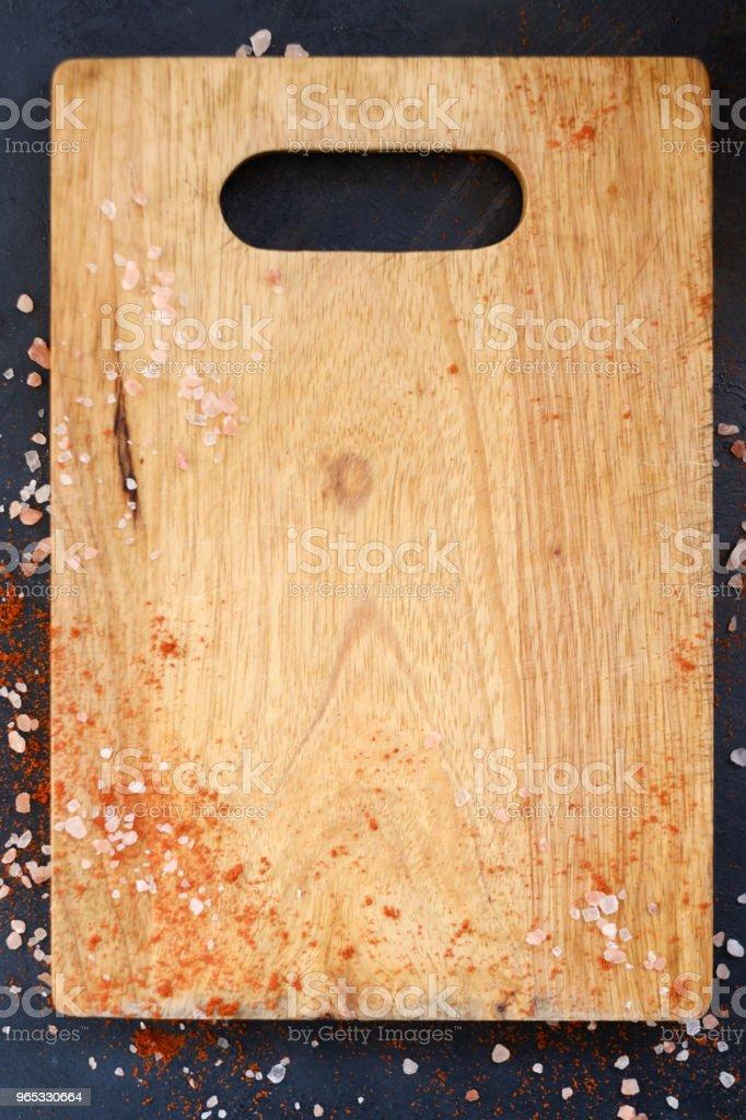 wood cutting board salt food cuisine culinary zbiór zdjęć royalty-free