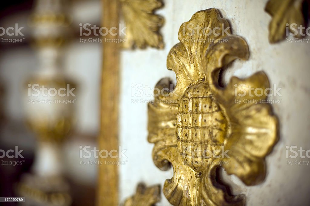Wood decoration royalty-free stock photo