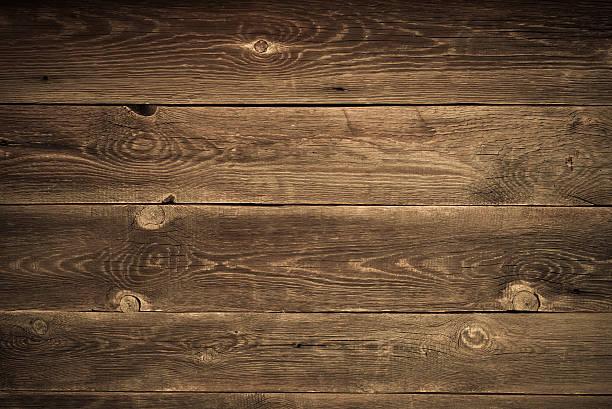 Schreibtisch aus Holz plank, als Hintergrund oder Textur verwenden – Foto