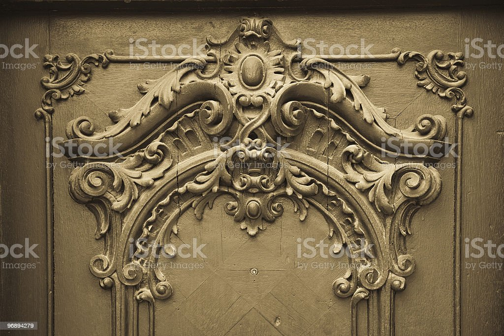 wood engraving royalty-free stock photo