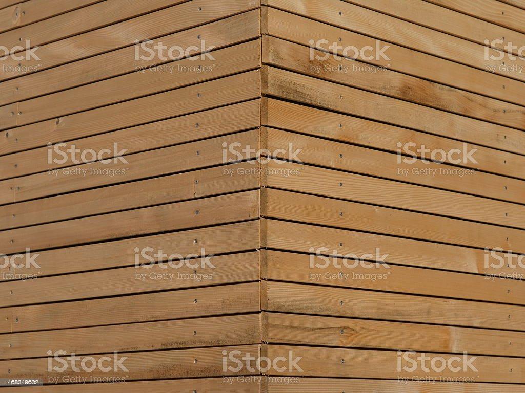 wood façade royalty-free stock photo