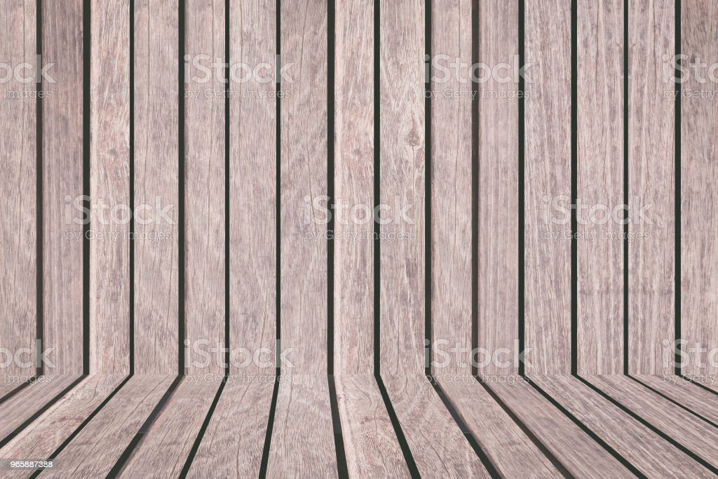 Wood fence or Wood wall background seamless and pattern - Royalty-free Brown Stock Photo