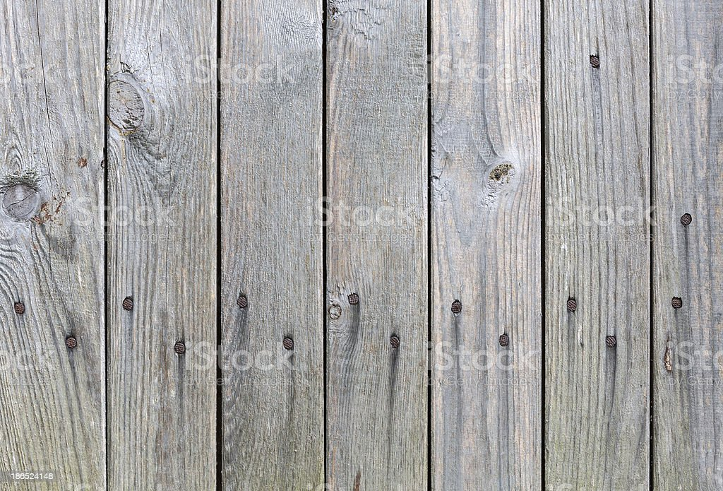Wood fence texture royalty-free stock photo