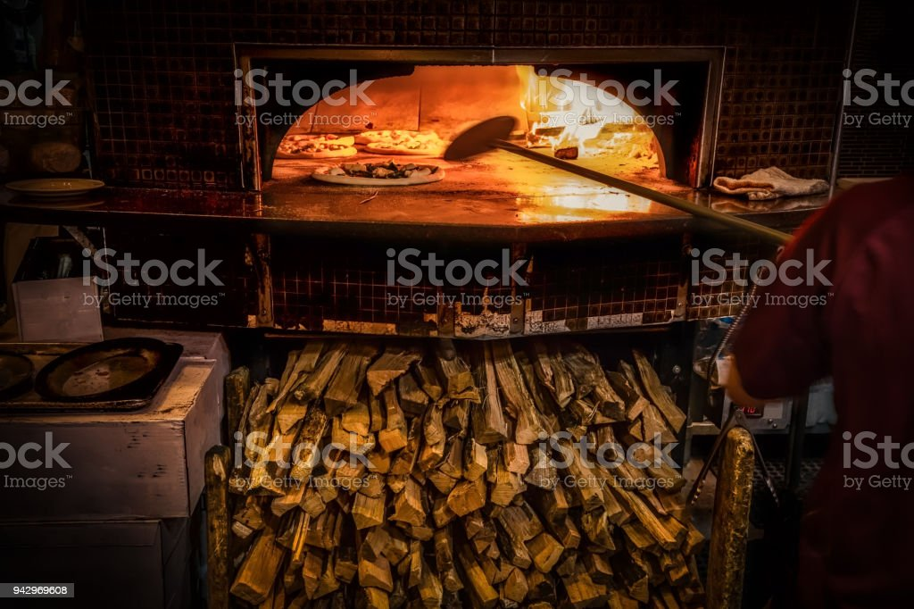 Wood Fired stock photo