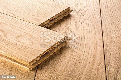 istock Wood floor 607464922