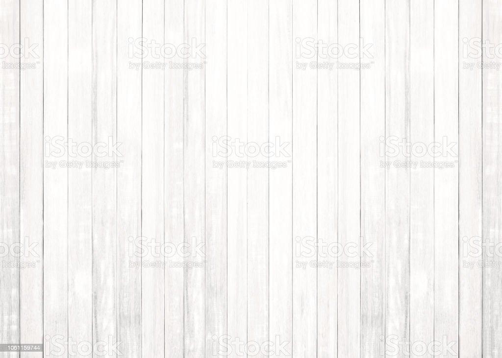 Wood Floor Texture Pattern Plank Surface Painted White Pastel Wall  Background Royalty Free Stock Photo