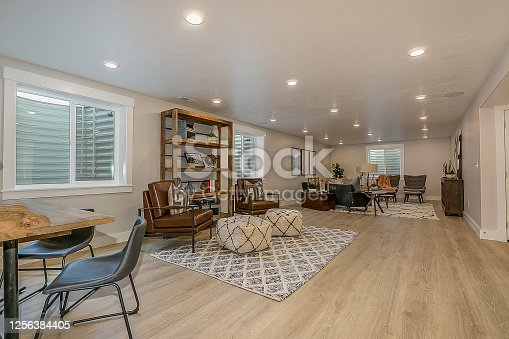 Areas for relaxing, studying, reading, and simply hanging out with family and friends