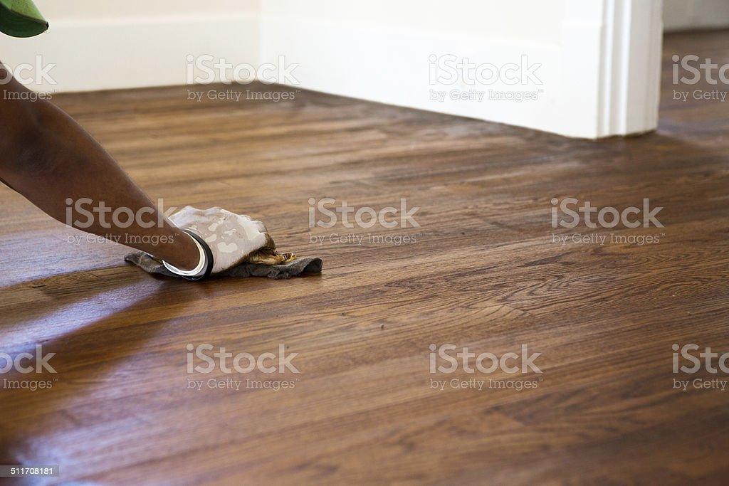 Wood Floors stock photo