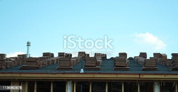 534196421 istock photo wood frame home 1136962678