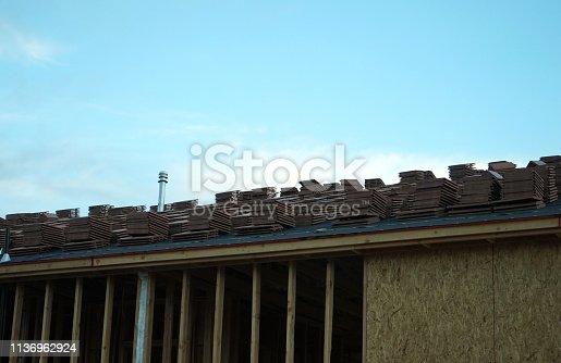 534196421 istock photo wood frame home 1136962924