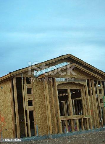 534196421 istock photo wood frame home 1136963036