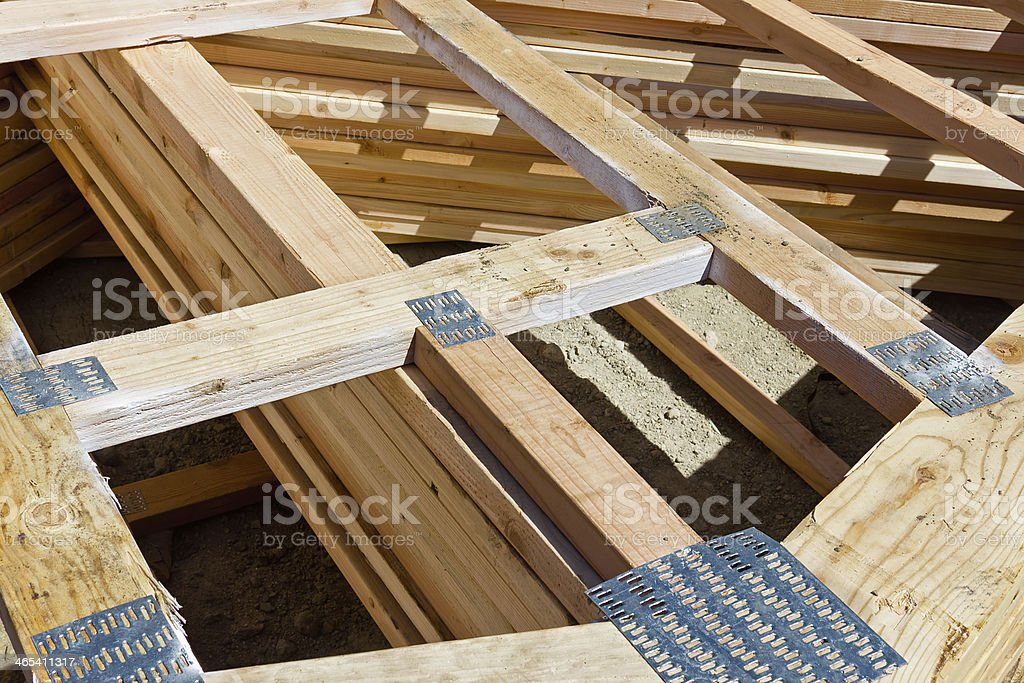 Wood Frame Nail Plate Stock Photo & More Pictures of Activity | iStock