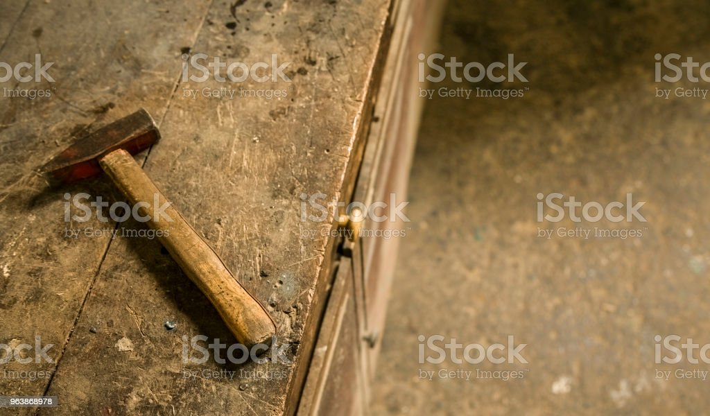 Wood hammer - Royalty-free Architecture Stock Photo