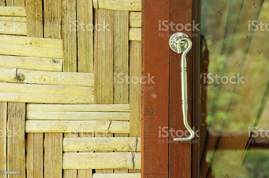 Wood home interior royalty-free stock photo