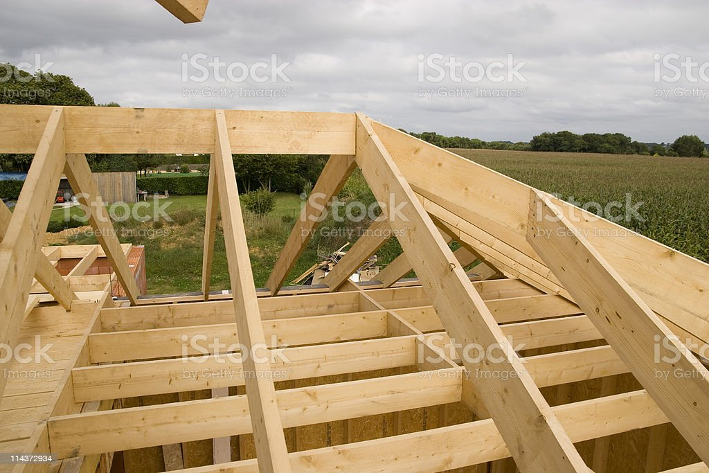 wood house royalty-free stock photo
