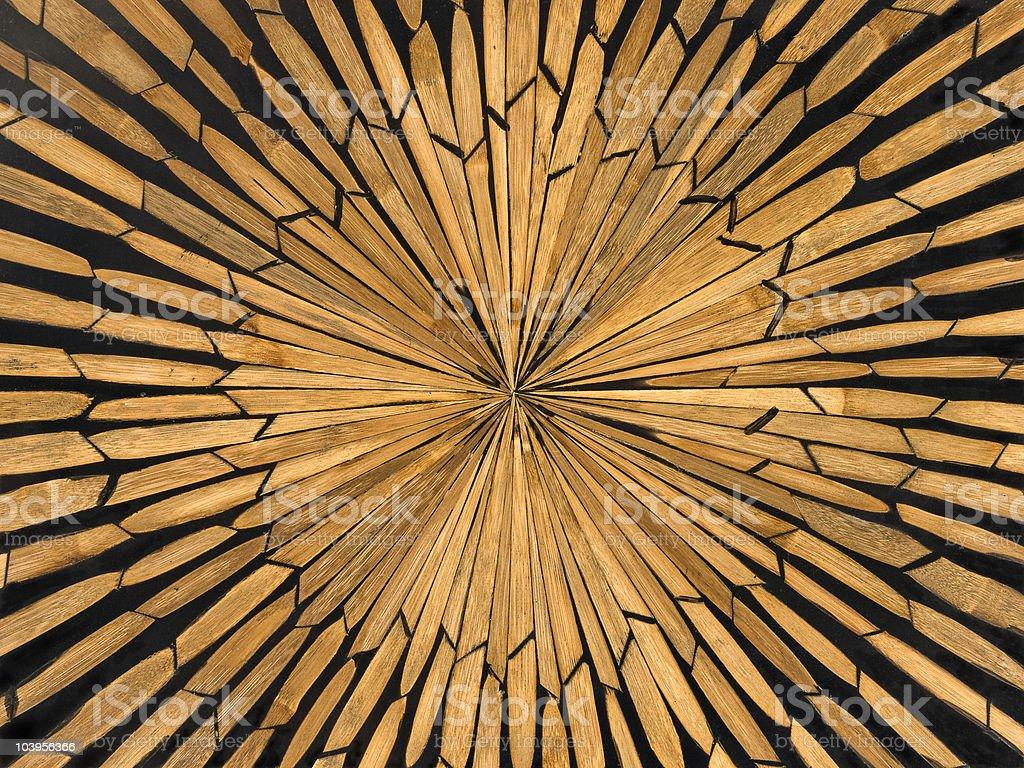 Wood inlay stock photo