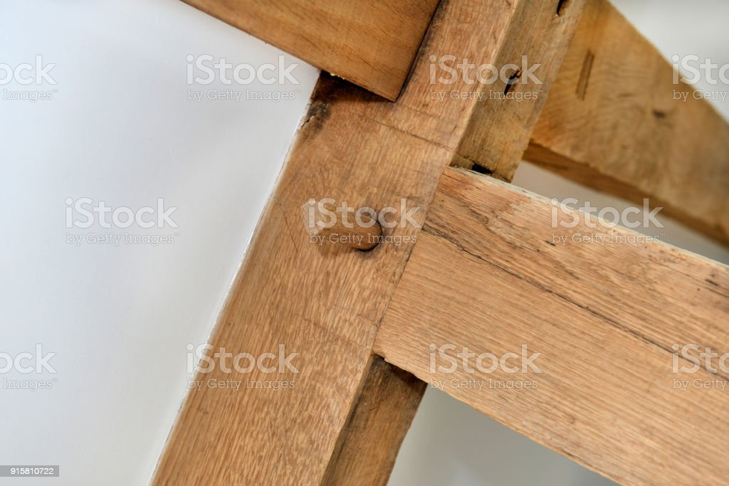 wood joint stock photo