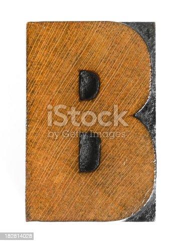 istock wood letterpress 182814028