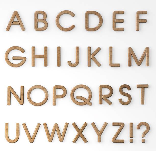 wood letters alphabet - ruth 個照片及圖片檔