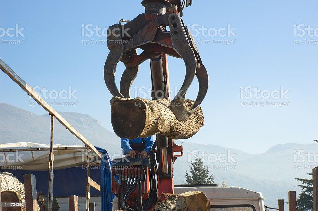 Wood Machinery royalty-free stock photo