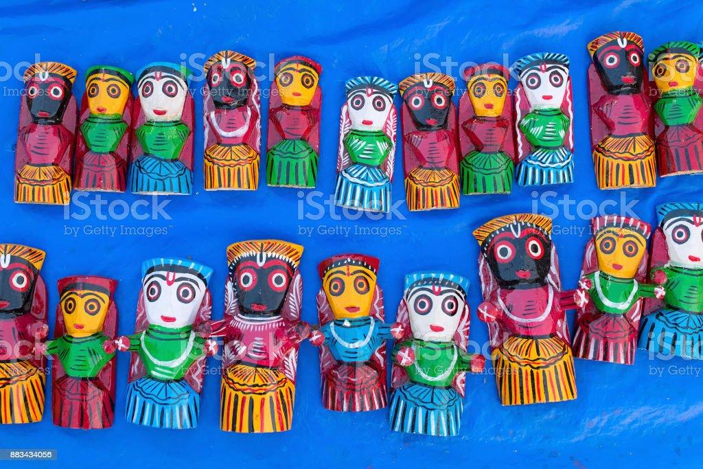 Holz machte Puppen - Kunsthandwerk – Foto