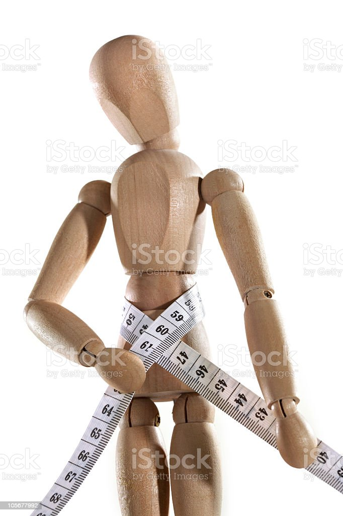 Wood Mannequin royalty-free stock photo