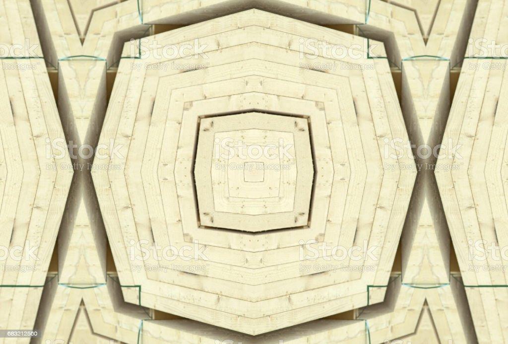 Wood ornamental pattern royalty-free stock photo