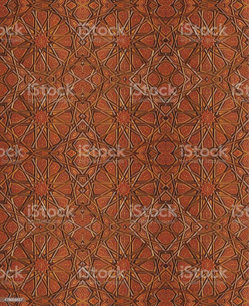 Wood Ottoman Turkish royalty-free stock photo