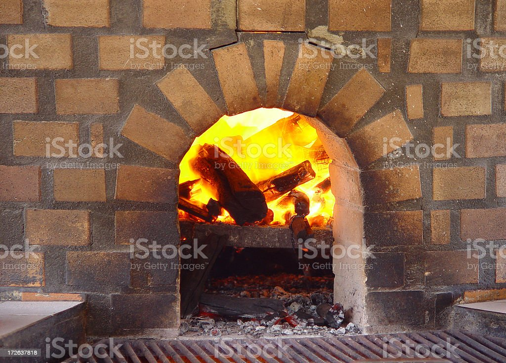 Wood oven royalty-free stock photo