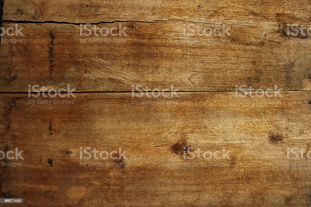 Wood Panel from Coconut Tree (Abstract) royalty-free stock photo