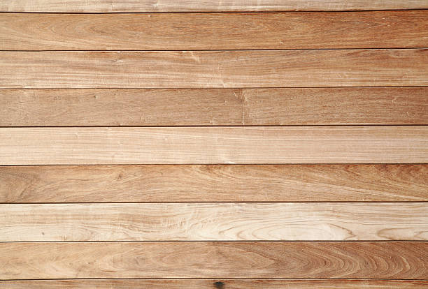 Wood Paneling Exterior, Full Frame stock photo
