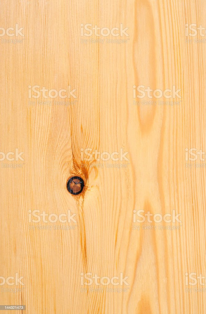 Wood pattern with knot royalty-free stock photo
