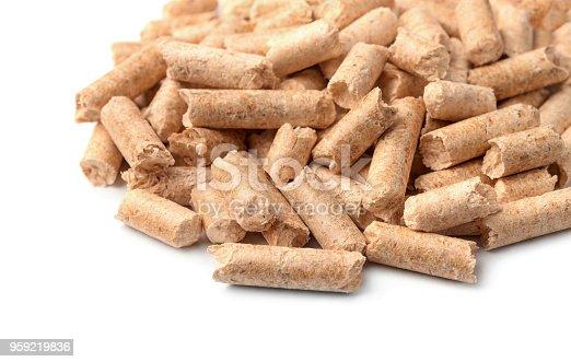 istock Wood pellets 959219836