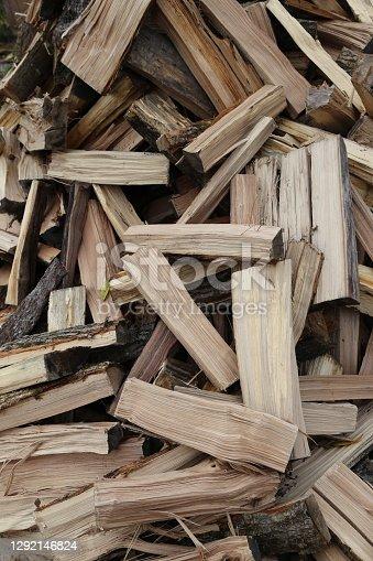 istock Wood Pile 1292146824