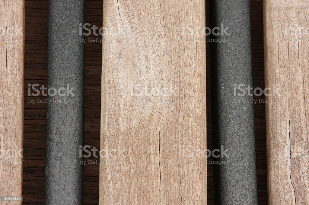 Дерево & труба Стоковые фото Стоковая фотография