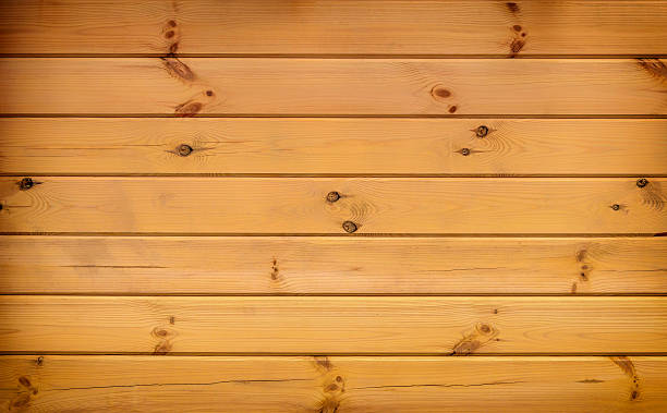 wood plank brown wall texture background - en sapin photos et images de collection