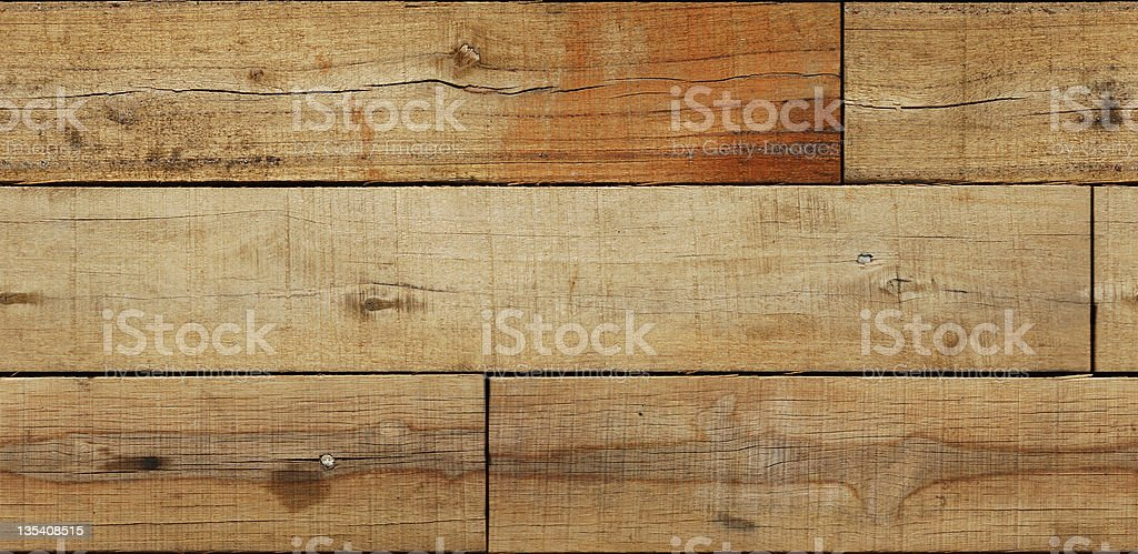 Wood Plank (Seamless) royalty-free stock photo