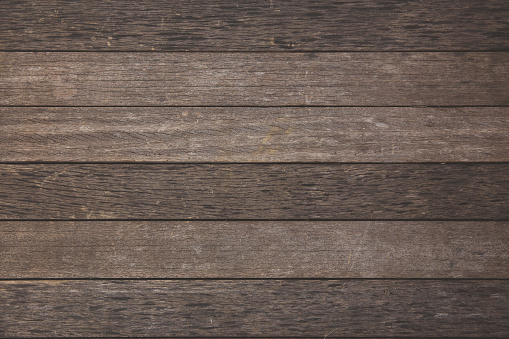 Wood plank textured in horizontal lines