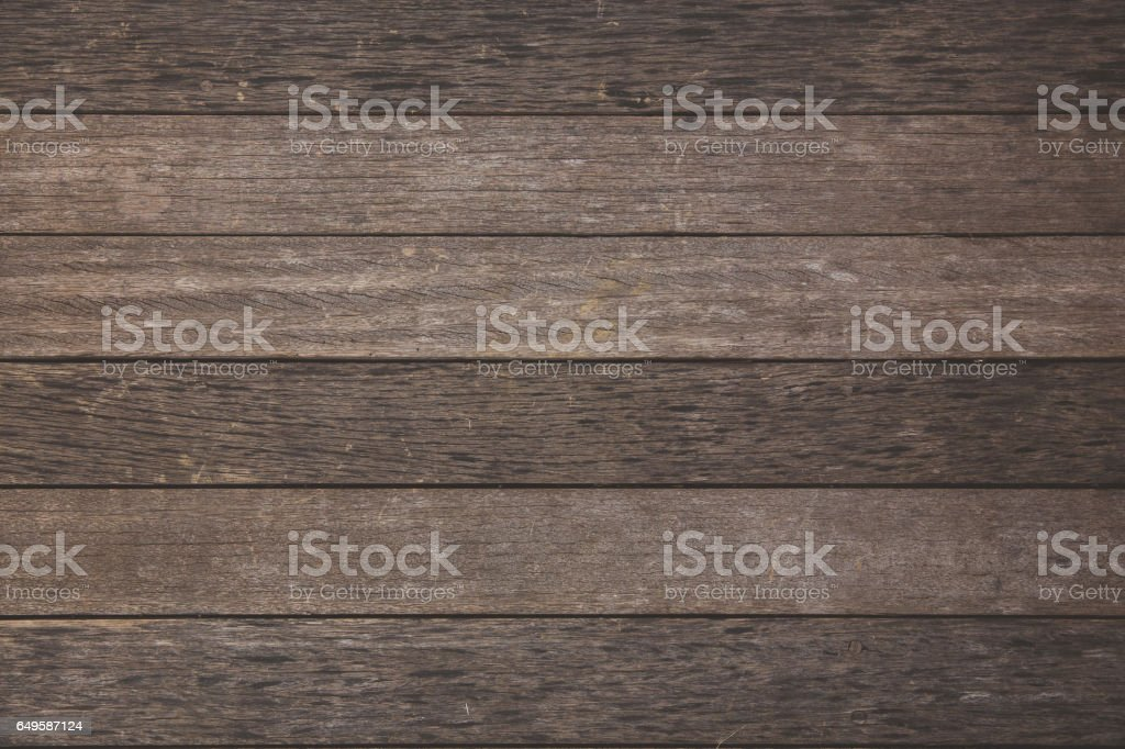 Wood plank textured in horizontal lines stock photo
