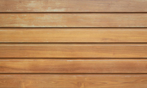 Wood plank wall texture background. stock photo
